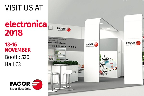 See you at Electronica 2018 (Munich) November 13-16