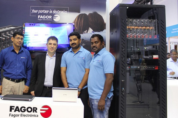 Fagor Electrónica at Cabsat 2017 exhibition - Dubai