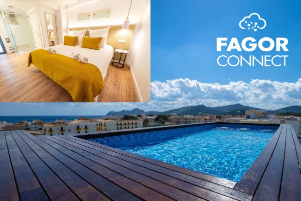 Fagor Connect at The Place Hotel in Mallorca